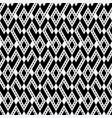 tribal ethnic rhombus monochrome seamless pattern vector image vector image