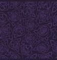 vintage floral natural seamless pattern vector image vector image