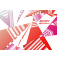 abstract polygonal background triangles mosaic vector image