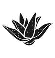 aloe icon simple style vector image vector image