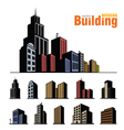 building set vector image