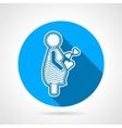Maternity round icon
