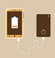 Power bank vector image