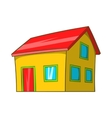 Real estate icon cartoon style vector image vector image