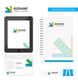scale business logo tab app diary pvc employee vector image vector image