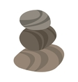 spa stones icon vector image