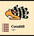 Aztec symbol Cuauhtli vector image vector image