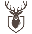 deer symbol hunt vector image