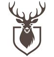 deer symbol hunt vector image vector image