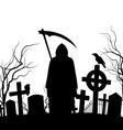 Graveyard vector image vector image