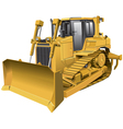 Light brown dozer