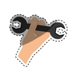 construction tool equipment vector image vector image