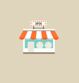 E-commerce ideas with Online store vector image