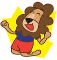 Lion Happy vector image vector image