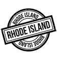 Rhode Island rubber stamp vector image vector image