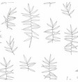 seamless pattern with herbs for printing vector image vector image
