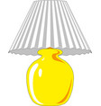table lamp lamp light isolated vector image