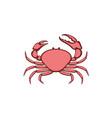 tasmanian giant crab vector image vector image