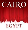 Cairo Egypt city skyline silhouette