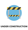 Construction Barrier vector image