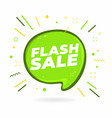 flash sale banner design template vector image