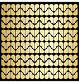 Golden heart texture vector image vector image