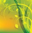green environment vector image vector image