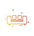 Home furniture icon design