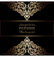 Invitation decorative various 05 vector image