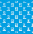 medical test tubes in holder pattern seamless blue vector image vector image