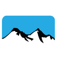 mountain symbol vector image