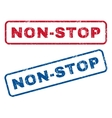 Non-Stop Rubber Stamps vector image vector image