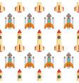 rocketpattern-51 vector image vector image
