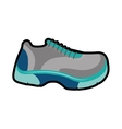 running shoes icon Healthy lifestyle design vector image