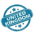 UNITED KINGDOM round stamp vector image