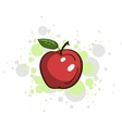 Bright Juicy Apple vector image