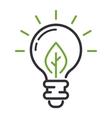 Energy icon symbol vector image vector image