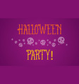 halloween background style collection vector image vector image
