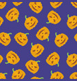 holiday seamless halloween pattern vector image