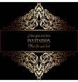 Invitation decorative various 04 vector image