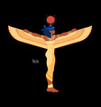 isis goddess life and magic in egyptian vector image vector image