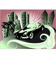 vintage auto vector image