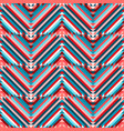 zigzag ethnic tribal seamless pattern vector image vector image