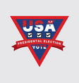 2020 usa presidential election vote vector image vector image