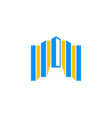 building icon logo design element vector image vector image