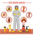 Pest Control Service vector image