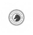 Retro Vintage Insignia or Logotype vector image vector image