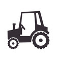 tractor job agricultural vector image