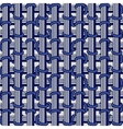 Elegance blue seamless pattern vector image vector image