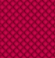 Red quilted background pattern vector image vector image